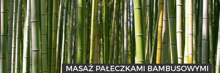 masaz bambusowymi